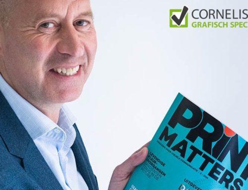 Ed Cornelissen schrijft column in PRINTmatters