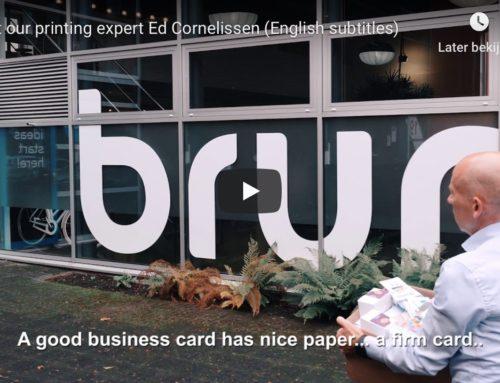 Businesscards supersnel geleverd dankzij geautomatiseerd proces (video)